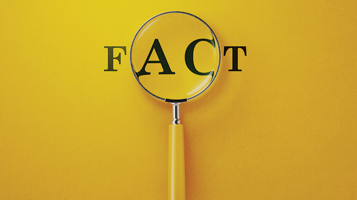 Fact Checking Business Image