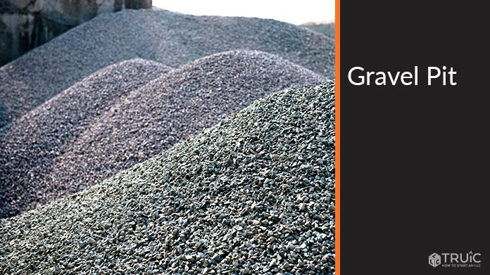 Gravel Pit Business Image