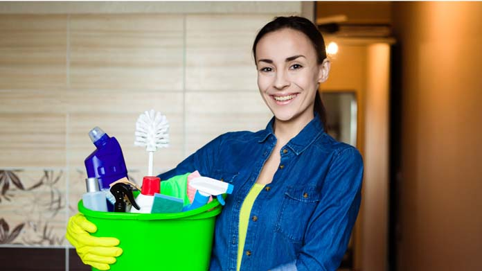 Green Cleaning Products Business Image