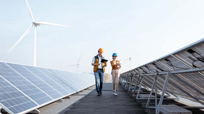 Green Energy Business Image