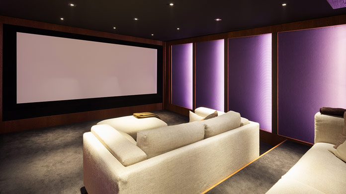 Home Theater Installation Business Image