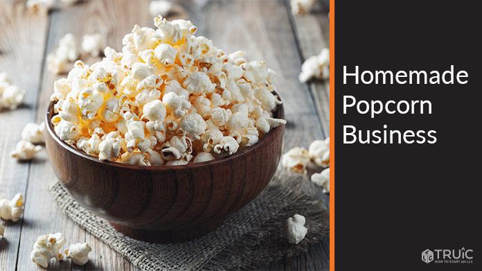 Homemade Popcorn Business Image