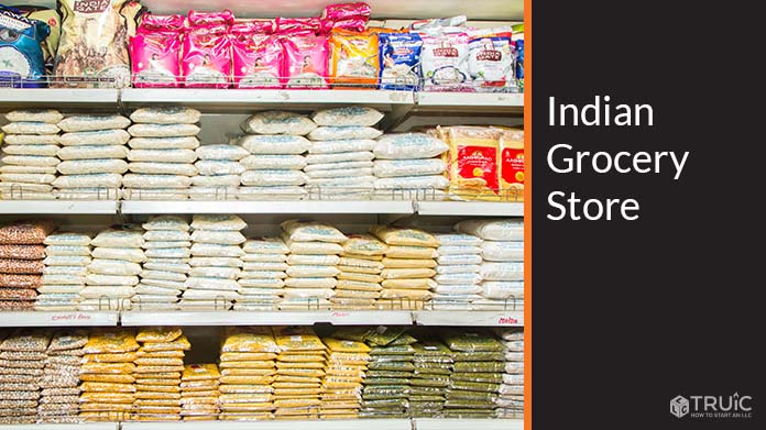 Indian Grocery Store Image