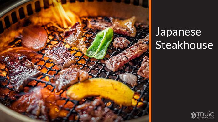 Japanese Steakhouse Business Image