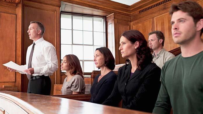 Mock Jury Business Image