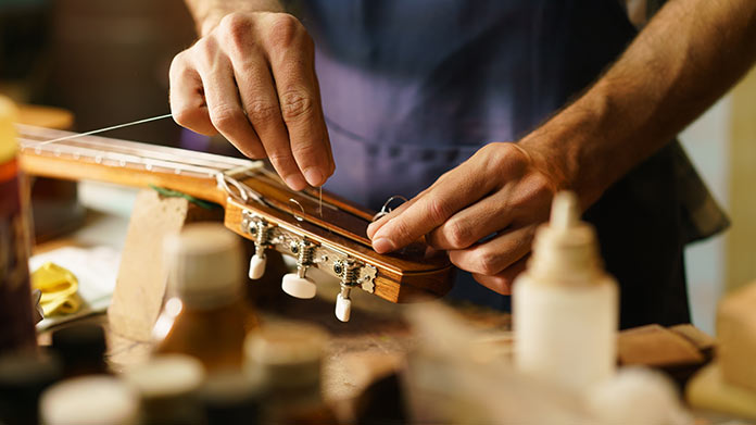 Musical Instrument Repair Business
