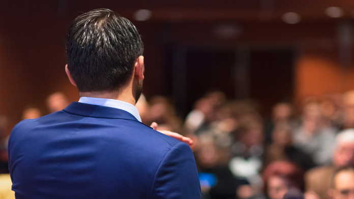 Public Speaking Instruction Business Image