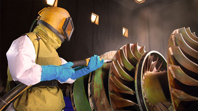 Sandblasting Business Image