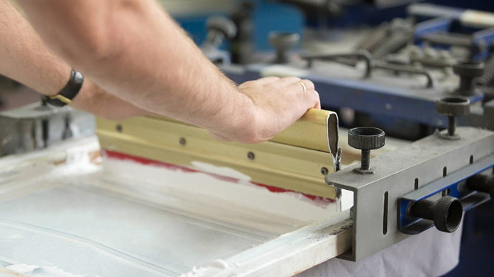 how to start a screenprinting business from home