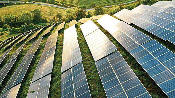 Solar Farm Business Image