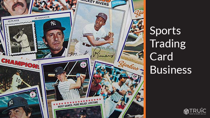 Sports Trading Card Business Image
