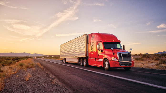 Tractor Trailer Business Image