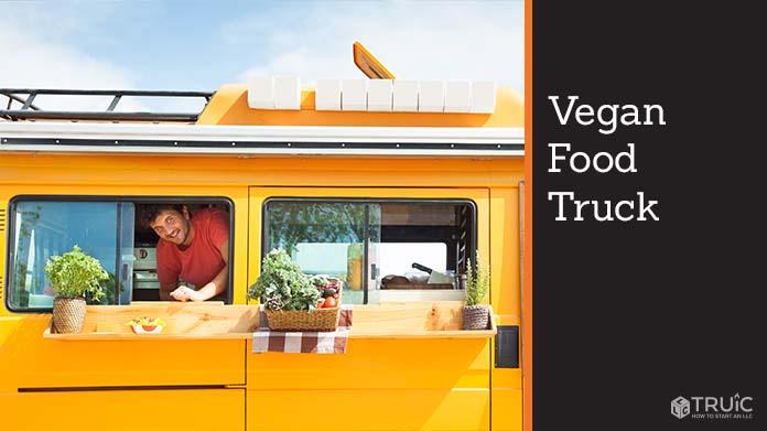 Vegan Food Truck Image