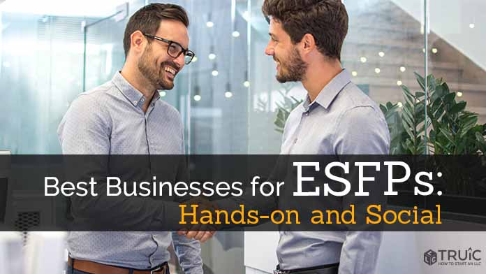 ESFP Business Ideas Image