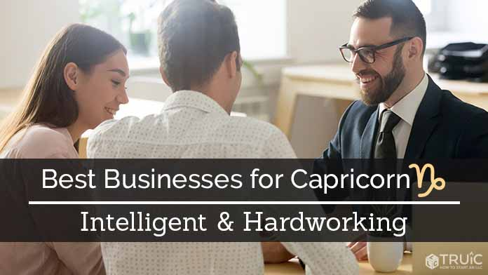 Capricorn Business Ideas Image