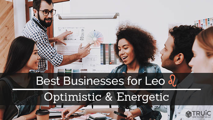 Leo Business Ideas Image