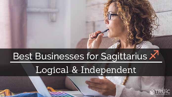 Sagittarius Business Ideas Image