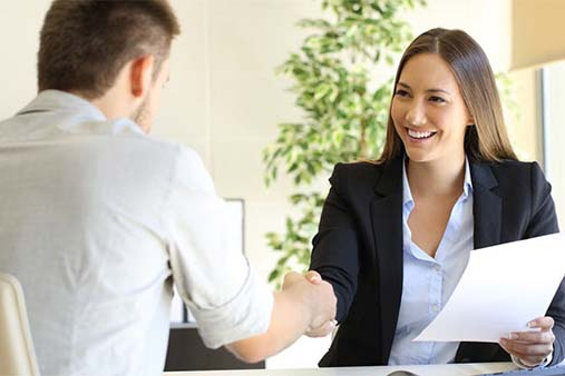 Contract Customer Service Business Image