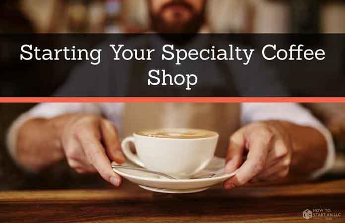 Barista handing a cappuccino to a customer.