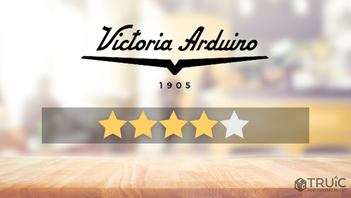Victoria Arduino machine with a 4 star review.