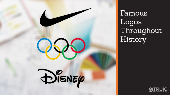 The Nike, Olympics, and Disney logos next to each other