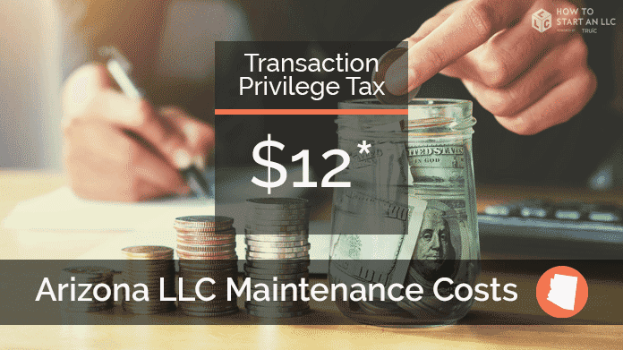 Cost to Maintain an LLC in Arizona