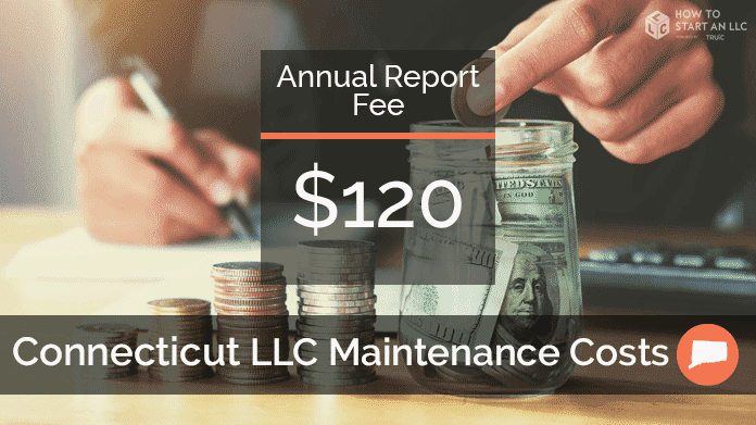 Cost to Maintain an LLC in Connecticut