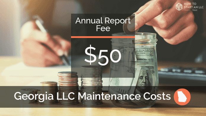 Cost to Maintain an LLC in Georgia
