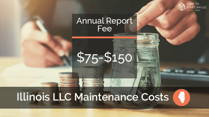 Cost to Maintain an LLC in Illinois