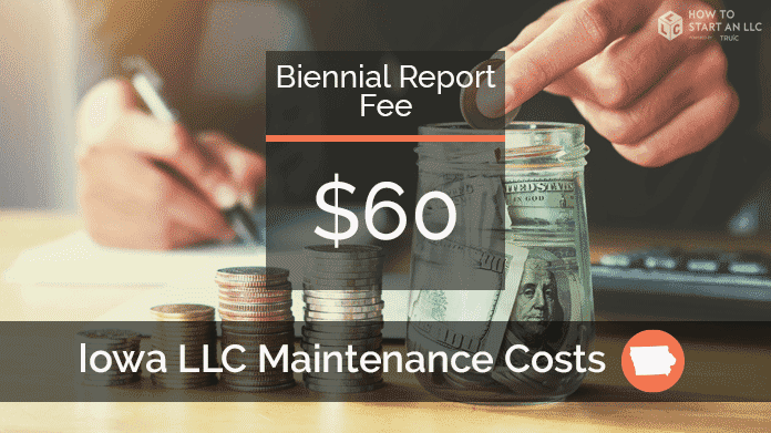 Cost to Maintain an LLC in Iowa
