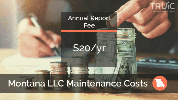 Cost to Maintain an LLC in Montana