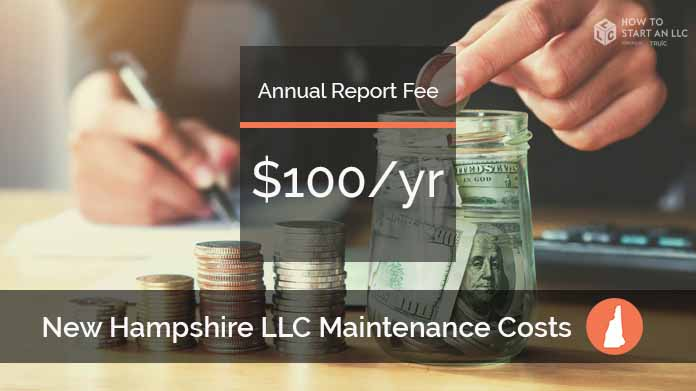 Cost to Maintain an LLC in New Hampshire