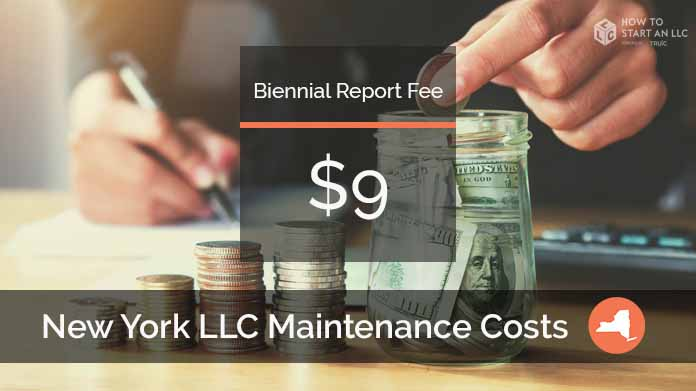 Cost to Maintain an LLC in New York