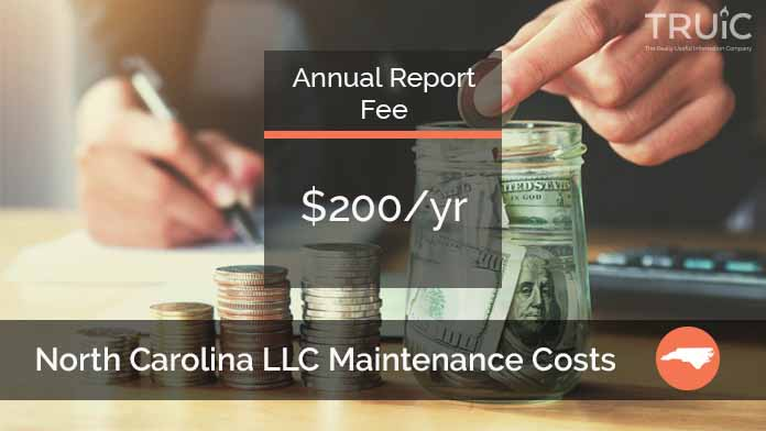 Cost to Maintain an LLC in North Carolina