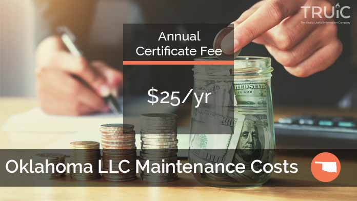 Cost to Maintain an LLC in Oklahoma
