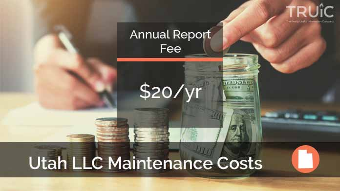 Cost to Maintain an LLC in Utah