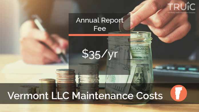 Cost to Maintain an LLC in Vermont