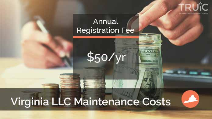 Cost to Maintain an LLC in Virginia