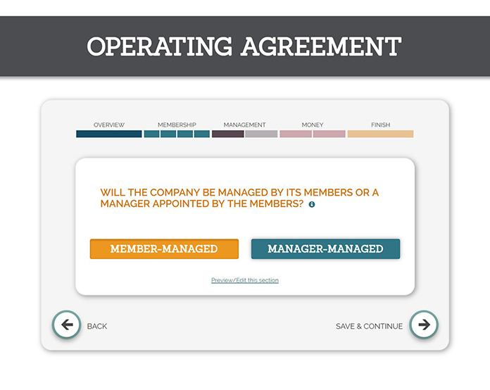 TRUiC Sample Operating Agreement: Will the company be managed by its members or a manager appointed by its members?