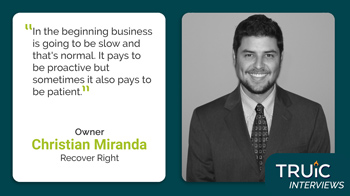 Interview - Christian Miranda, Recover Right