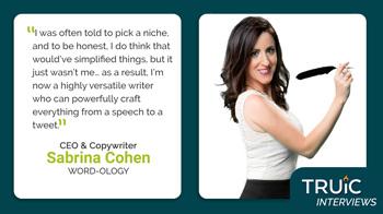 Interview - Sabrina Cohen, Word-ology