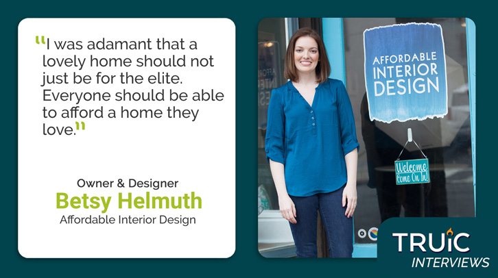 Betsy Helmuth, Affordable Interior Design