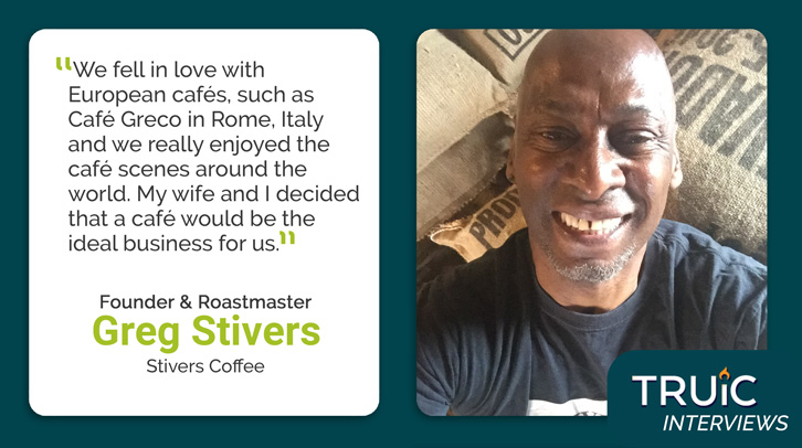 Greg Stivers, Stivers Coffee