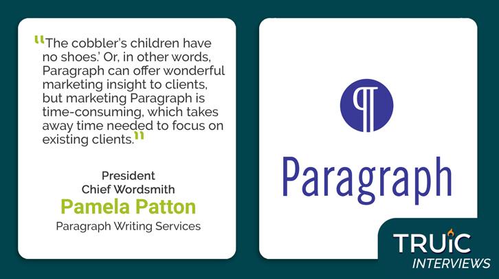 Pamela Patton, Paragraph Writing Service