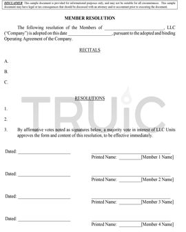 Free LLC Legal Forms How To Start An LLC - Llc document templates