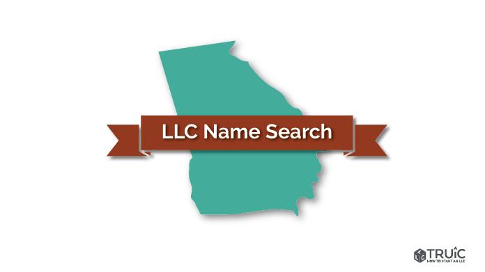Georgia LLC Search Image