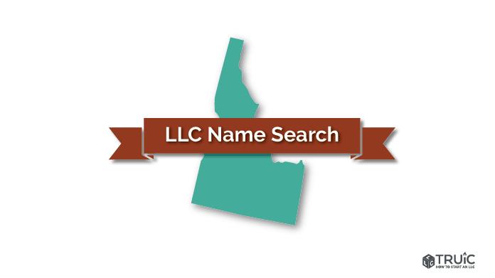 Idaho LLC Name Search Image