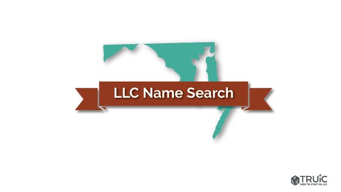 Maryland LLC Name Search Image