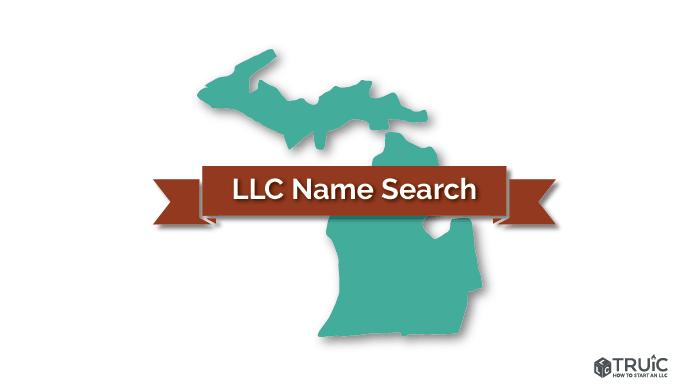 Michigan LLC Name Search Image