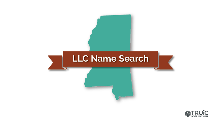 Mississippi LLC Name Search Image